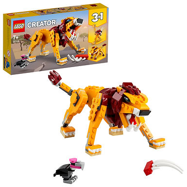 LEGO Creator 3-in-1 31112 Wild Lion