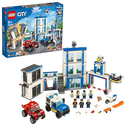LEGO City 60246 Police Station at JJ Toys