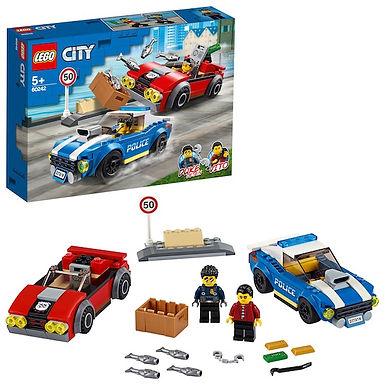 LEGO City 60242 Police Highway Arrest at JJ Toys