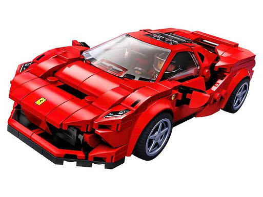 Lego Speed Champions 76895 Ferrari F8 Tributo on Localy.co.uk (GX1)