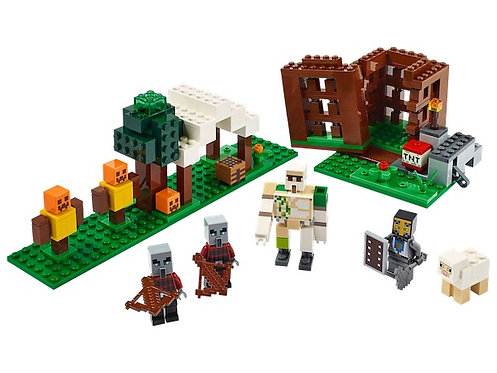 Lego Minecraft 21159 The Pillager Outpost (GX1)