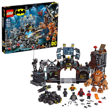 LEGO 76122 Super Heroes Batcave Clayface Invasion at JJ Toys