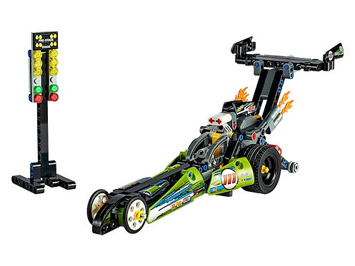 Lego Technic 42103 Dragster at JJ Toys