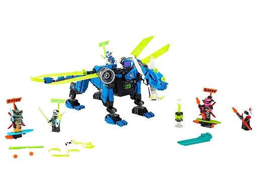 Lego Ninjago 71711 Jay's Cyber Dragon at JJ Toys
