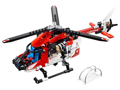 Lego Technic 42092 Rescue Helicopter at JJ Toys