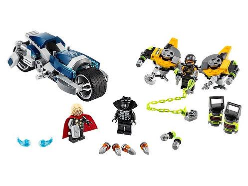 Lego Marvel 76142 Super Heroes Avengers Bike at JJ Toys
