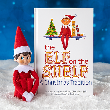 The ELF on the SHELF : A Christmas Tradition (Blue-eyed Girl) at JJ Toys