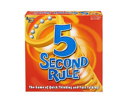 5 Second Rule Board Game at JJ Toys
