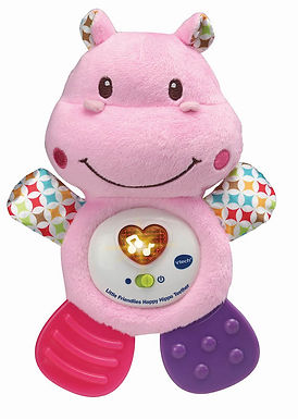 Vtech Little Friendlies Happy Hippo Teether Pink -502553