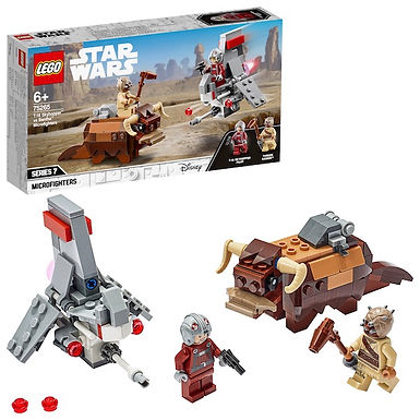 LEGO Star Wars 75265 T-16 Skyhopper™ vs Bantha™ Microfighters at JJ Toys