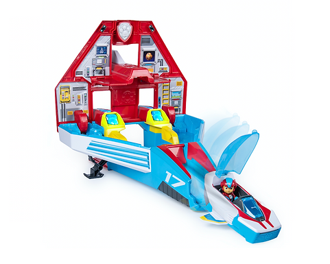 PAW Patrol Mighty Pups Superpaw Jet Command Centre at JJ Toys