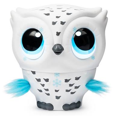 OWLEEZ Interactive Flying Owl - White at JJ Toys