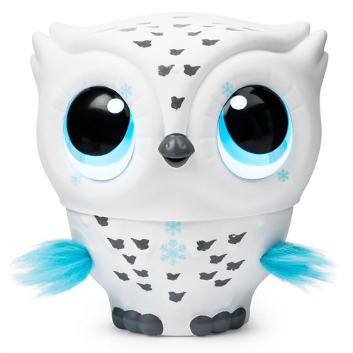 OWLEEZ Interactive Flying Owl - White at JJ Toys