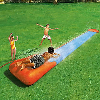 Bestway H2O-GO Single Lane Water Slide with Inflatable Speed Ramp Localy (GX1)