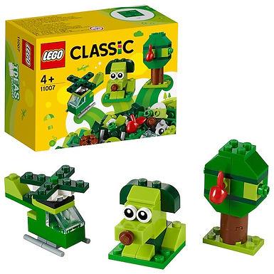 Lego Classic 11007 Creative Green Bricks at JJ Toys