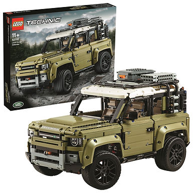 Lego Technic 42110 Land Rover Defender at JJ Toys