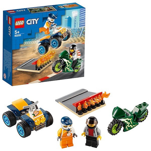 LEGO City 60255 Stunt Team at JJ Toys