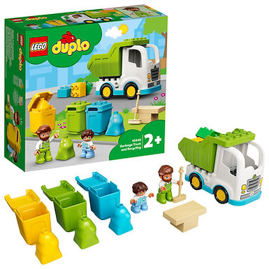 LEGO DUPLO 10945 Town Garbage Truck and Recycling