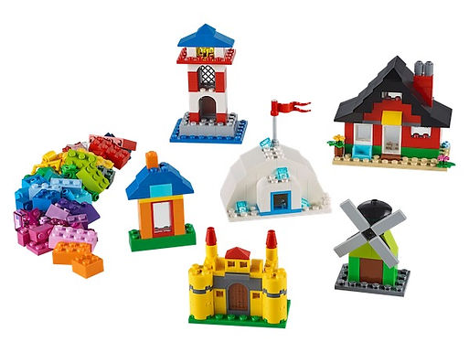 LEGO Classic 11008 Bricks and Houses at JJ Toys