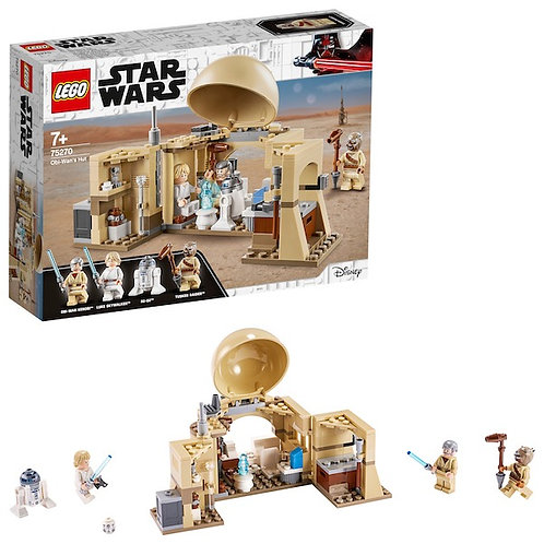 LEGO Star Wars 75270 Obi-Wan's Hut at JJ Toys