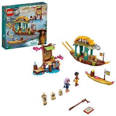 LEGO Disney 43185 Raya and the Last Dragon Boun's Boat