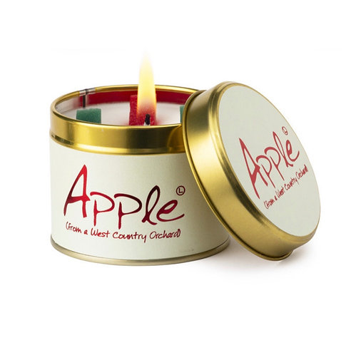 Lily Flame Apple Scented Candle at Cardella (GX1)