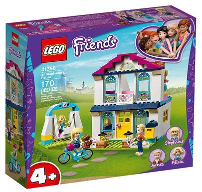 LEGO Friends 4+ 41398 Stephanie's House