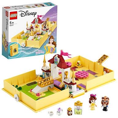 LEGO Disney 43177 Princess Belle's Storybook Adventures at JJ Toys