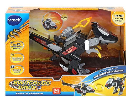 Vtech Switch & Go Dinos Blister the Velociraptor -141463