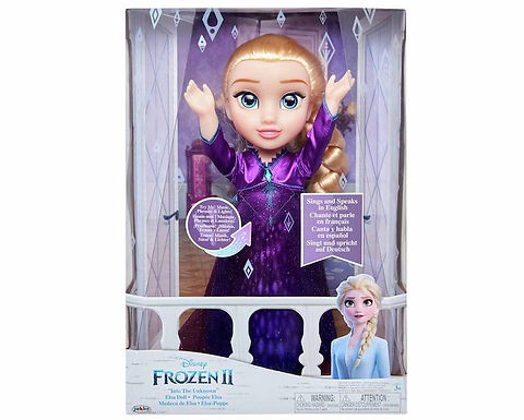 "Disney Frozen 2 Elsa Musical Doll ""Into The Unknown"" speaks 14 Film Phrases"