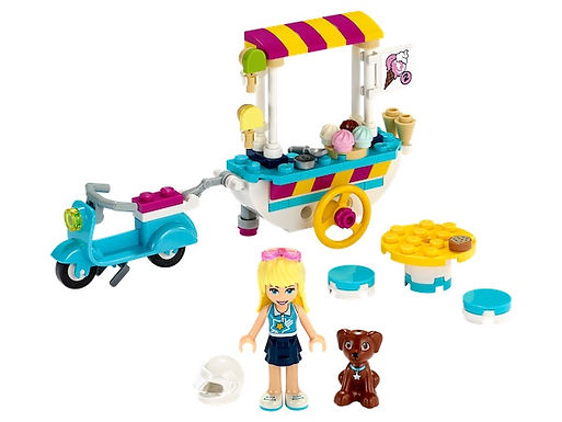 LEGO Friends 41389 Ice Cream Cart at JJ Toys