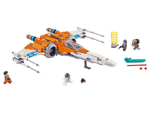LEGO Star Wars 75273 Poe Dameron's X-wing Fighter™ at JJ Toys