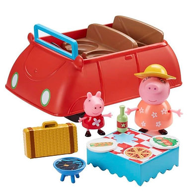 Peppa Pig - Peppa's Big Red Car at JJ Toys