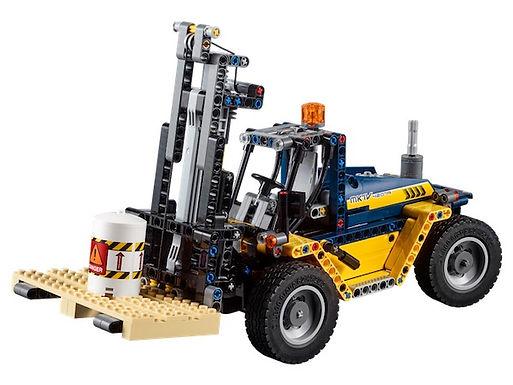 Lego Technic 42079 Heavy Duty Forklift at JJ Toys