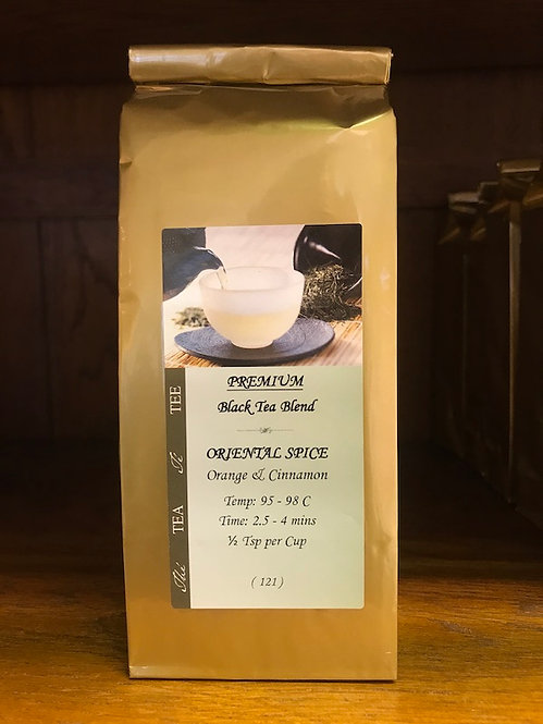 Premium Black Tea Blend - Oriental Spice - Orange & Cinnamon (121)