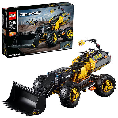 Lego Technic 42081 Volvo Concept Wheel Loader ZEUX at JJ Toys