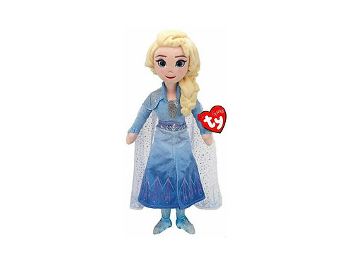 Ty Disney Frozen 2 Queen Elsa Beanie with Sound (TY02406) at JJ Toys