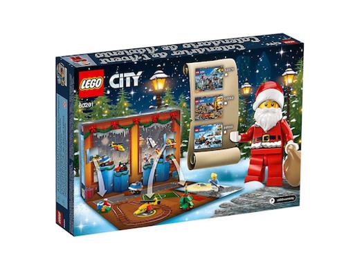 LEGO 60201 City Advent Calendar at JJ Toys