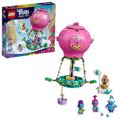 Lego Trolls 41252 Poppy's Hot Air Balloon Adventure at JJ Toys