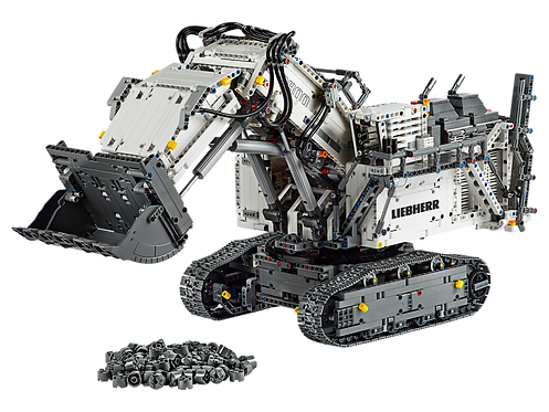 LEGO Technic 42100 Liebherr R 9800 Excavator at JJ Toys