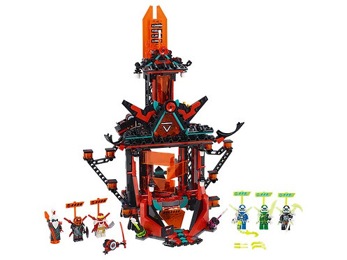 Lego Ninjago 71712 Empire Temple of Madness at JJ Toys