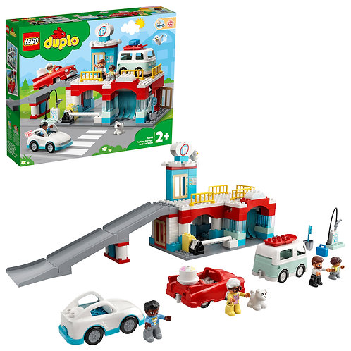 LEGO DUPLO 10948 Town Parking Garage and Car Wash