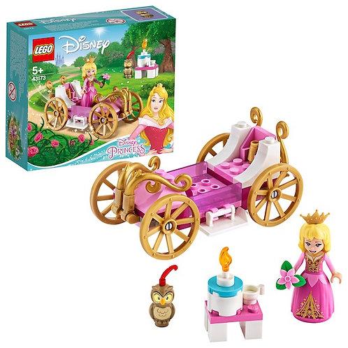LEGO Disney 43173 Princess Auroras Royal Carriage at JJ Toys