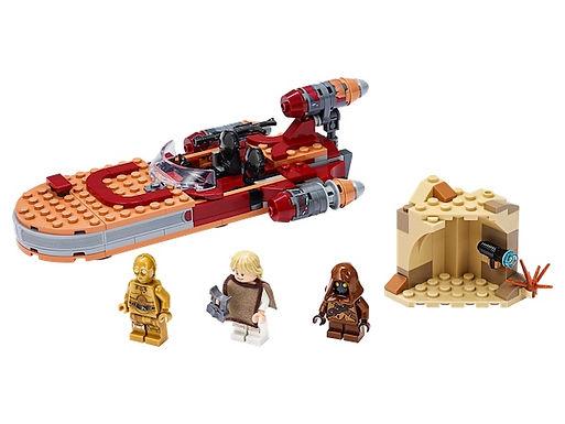 LEGO Star Wars 75271 Luke Skywalker's Landspeeder™ at JJ Toys