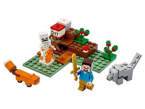 Lego Minecraft 21162 The Taiga Adventure at JJ Toys
