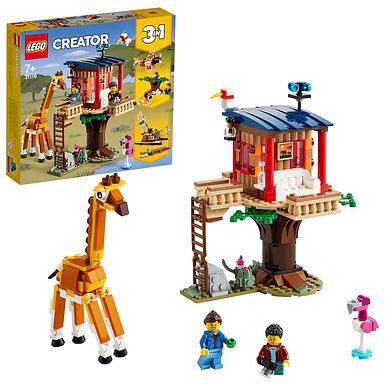 LEGO Creator 3-in-1 31116 Safari Wildlife Tree House