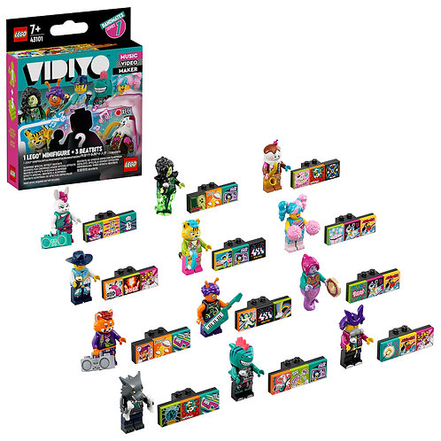 LEGO Vidiyo 43101 Bandmates (12 to collect)