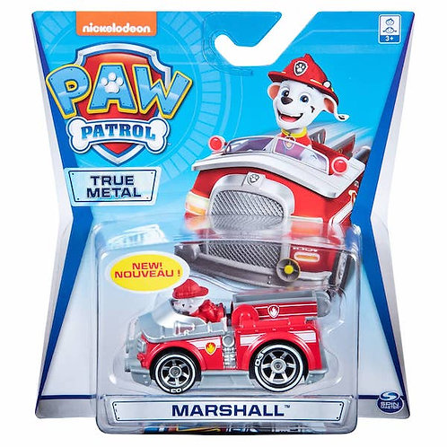 Paw Patrol True Metal Die Cast Vehicle - Marshall (GX1)