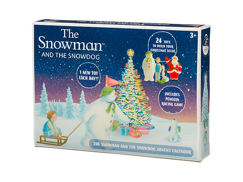 The Snowman and the Snowdog Advent Calendar at JJ Toys
