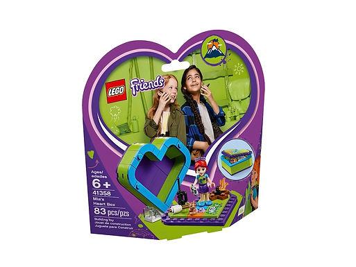 Lego Friends 41358 Mia's Heart Box